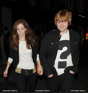 Rupert grint dating lainey
