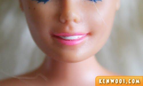 barbie smile