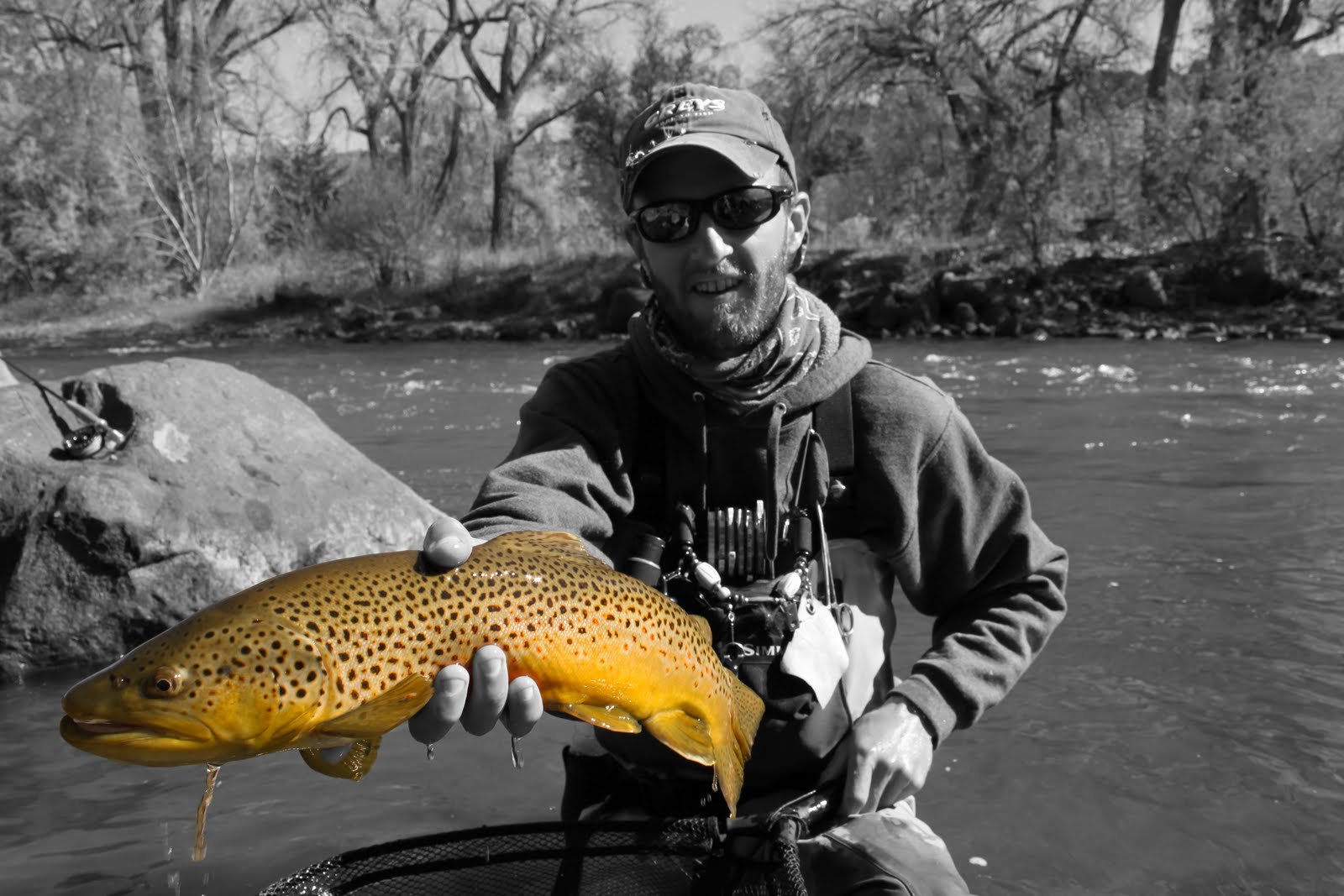 Conejos river anglers current news may 2011 for Fly fishing team usa