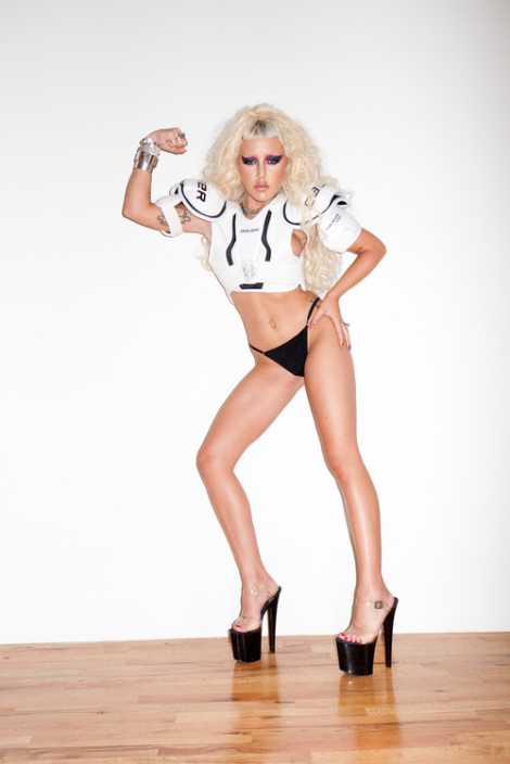 Brooke Candy Flashes Her Pastries for Terry Richardson