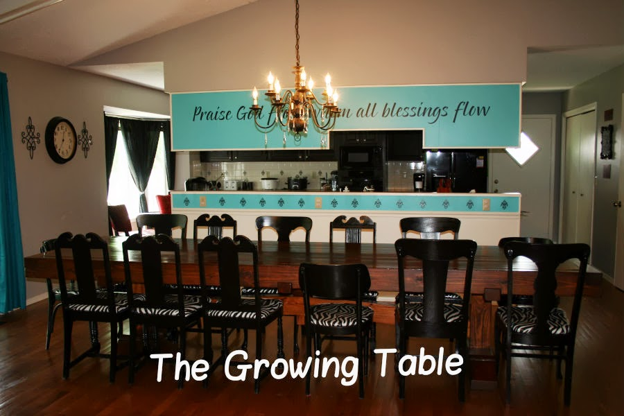 The Growing Table