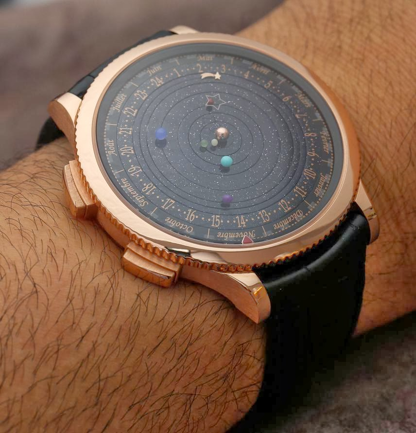 ce6912326e4 The Van Cleef   Arpels The Midnight Planetarium Poetic Complication Watch  Limited Edition is  245