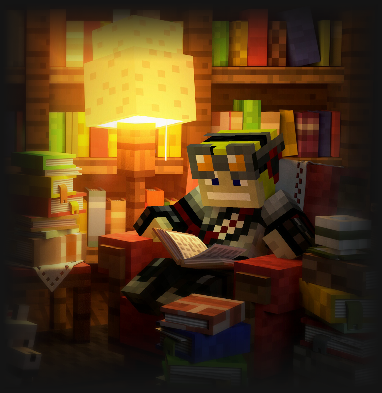 My Minecraft avatar reading