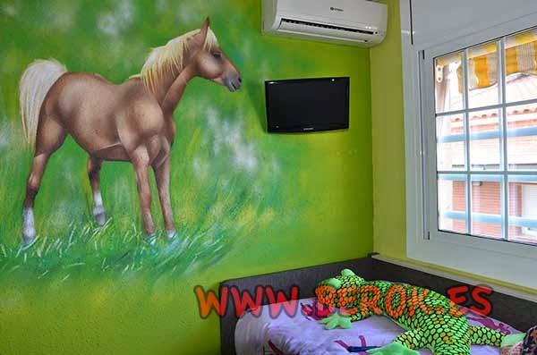 Diseños para paredes de habitaciones a domicilio