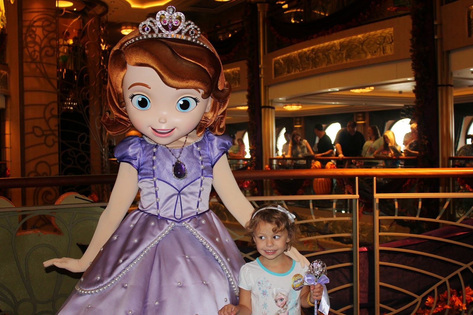 Saving for a dream disney fantasy trip report part 3 first sea day doc mcstuffins was about to come out and we could have waited but honestly i was kind of done with the characters after meeting 8 of them this morning kristyandbryce Images