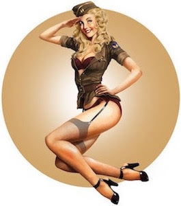 Des pin-up...