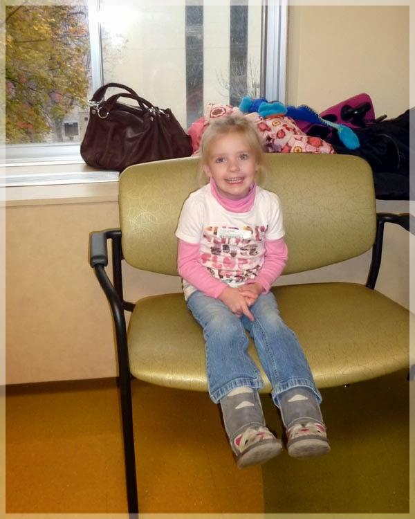 Olivia's Story: Halloween & November Clinic visit