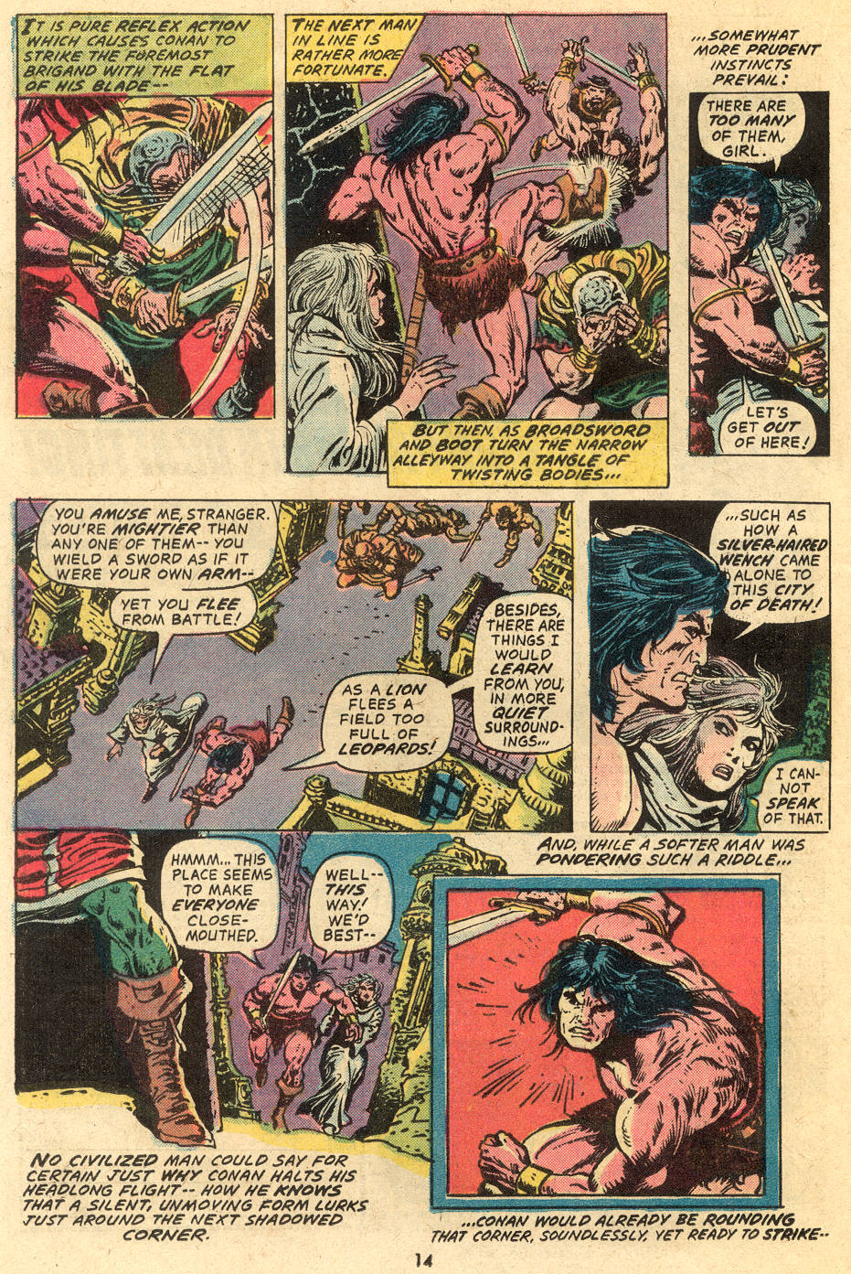 Conan the Barbarian (1970) Issue #40 #52 - English 9