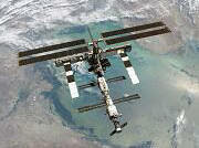 Transmissão direto da Estação Espacial Internacional (ISS-Internacional              Space Station)