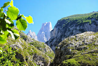 Cabrales, pico Urriellu desde el mirador de Bulnes