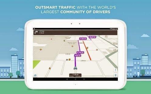 Waze, Aplikasi Android Penunjuk Arah Untuk Mengetahui Keberadaan Polisi