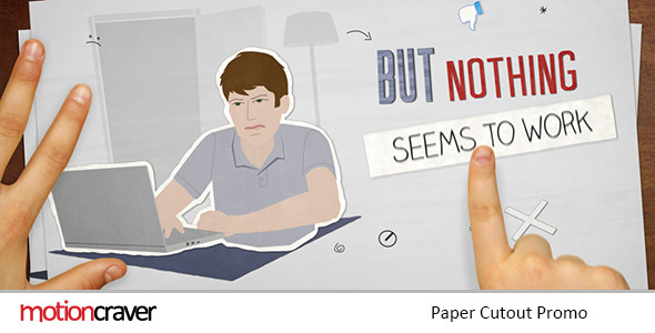 VideoHive Paper Cut Out Promo