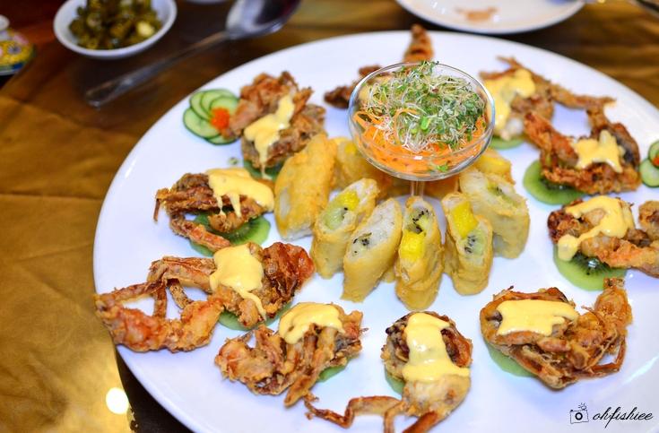 Oh fish iee spring garden restaurant by tai thong tropicana golf country resort for Spring garden jamaican restaurant