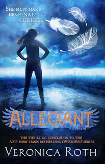 Allegiant, Veronica Roth, Divergent Trilogy #3, InToriLex, Top Ten Tuesday