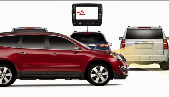Chevrolet's Forward Collision Alert Gives Customers a Backup Plan