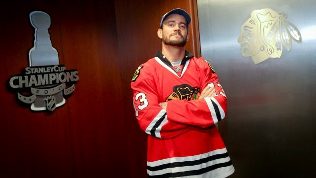 Number 13... CM Punk Stanley Cup Champions