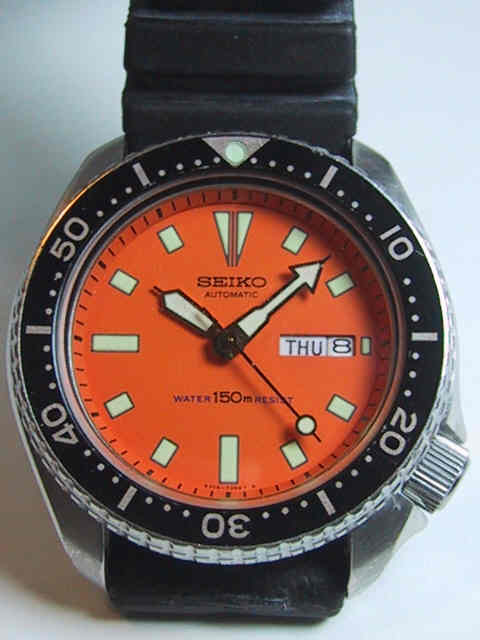 Seiko vintage dive watches 6309