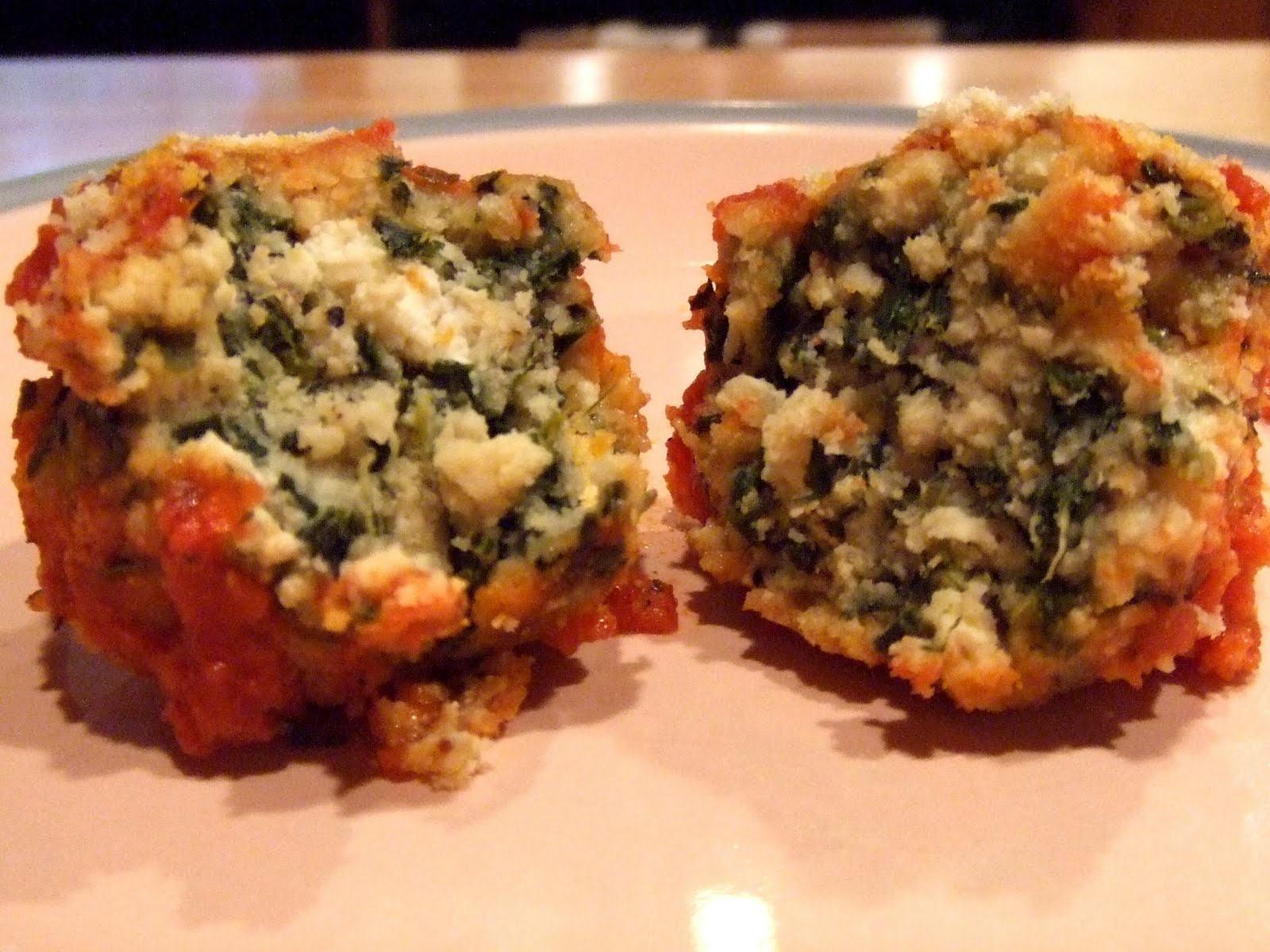 "... Vegan Makeover: Spinach Tofu Gnudi Balls Edition | The ""V"" Word"