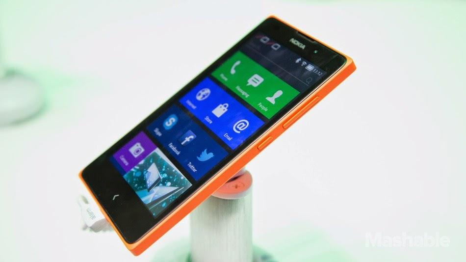 Nokia X passa por testes de resistência