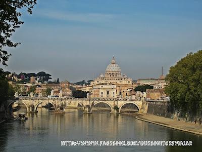 Panoramica de Roma y Vaticano