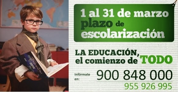 ESCOLARIZACIÓN 2014/2015
