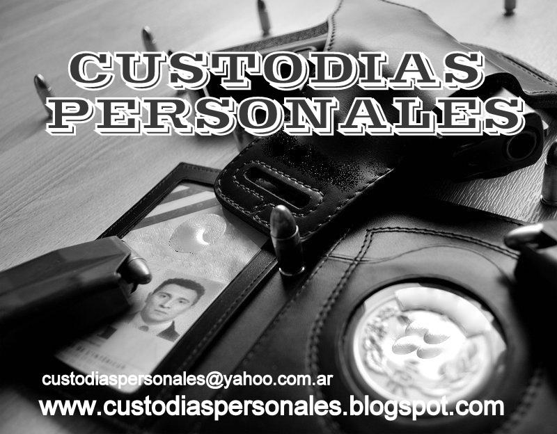 CUSTODIAS PERSONALES