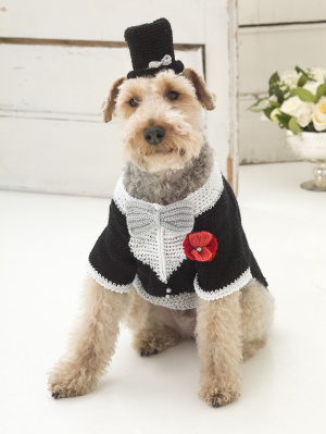 Miss Julias Patterns: Free Patterns - All About Dogs - Sweaters, Costume...