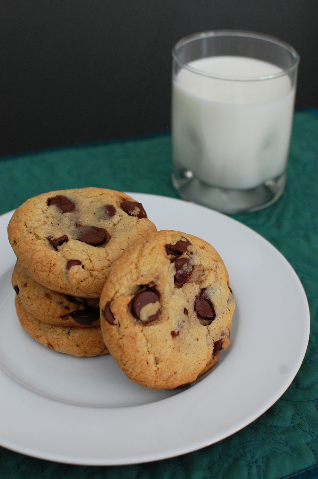 Browned Butter Cream Cheese Chocolate Chip Cookies | Beantown Baker
