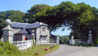 Menabilly gatehouse Cornwall