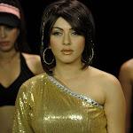 Hansika Motwani in Golden Dress  Pics