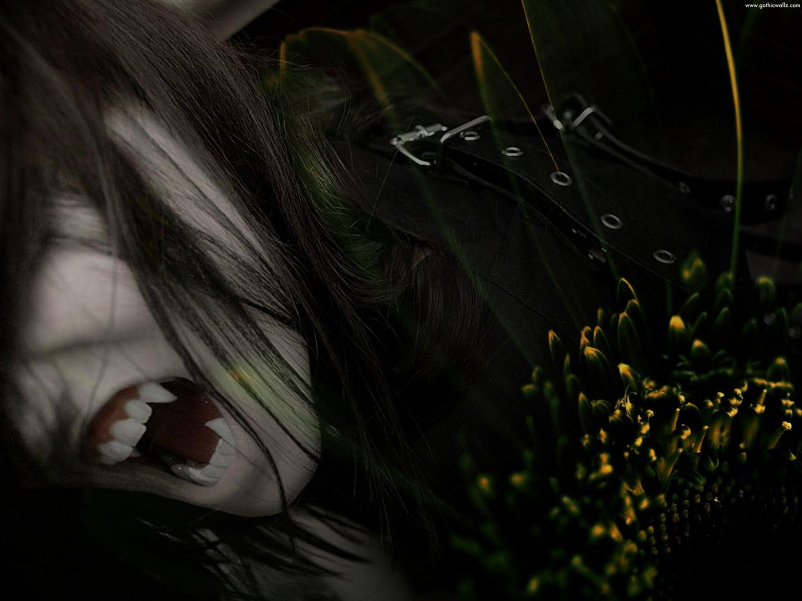 Emo Gothic Vampire    Dark Gothic Wallpaper Download