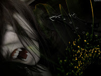 Emo Gothic Vampire  - Dark Gothic Wallpapers