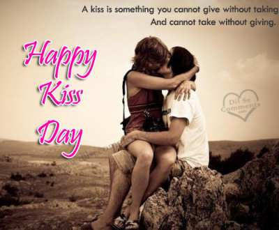 kiss day sms for boyfriend