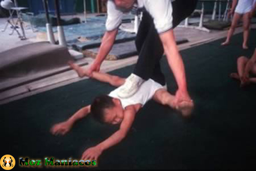 Treinamento infantil na china
