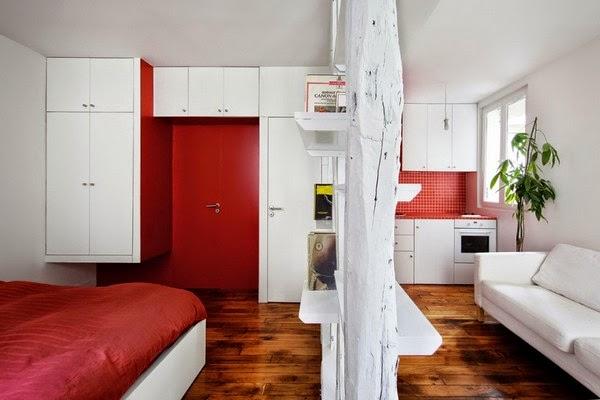 Móveis e decoração de apartamento