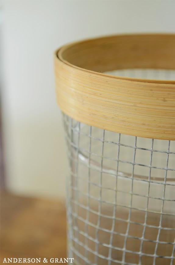 DIY Hardware Cloth Vase   Anderson + Grant