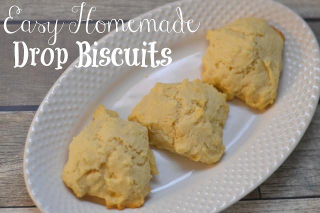 Easy Drop Biscuits, Drop Biscuit recipes, Drop Biscuits, homemade biscuit recipe