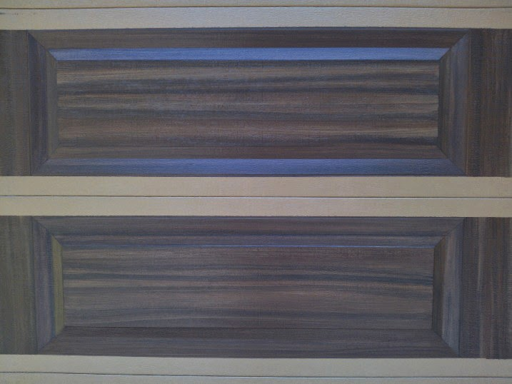 Completed Garage Door Painting Project Everything I