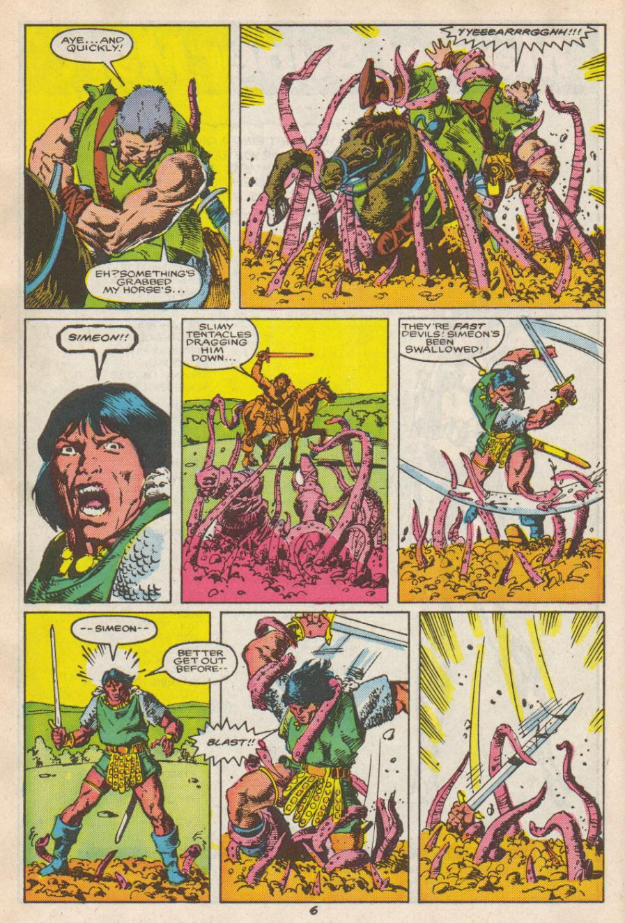 Conan the Barbarian (1970) Issue #192 #204 - English 7