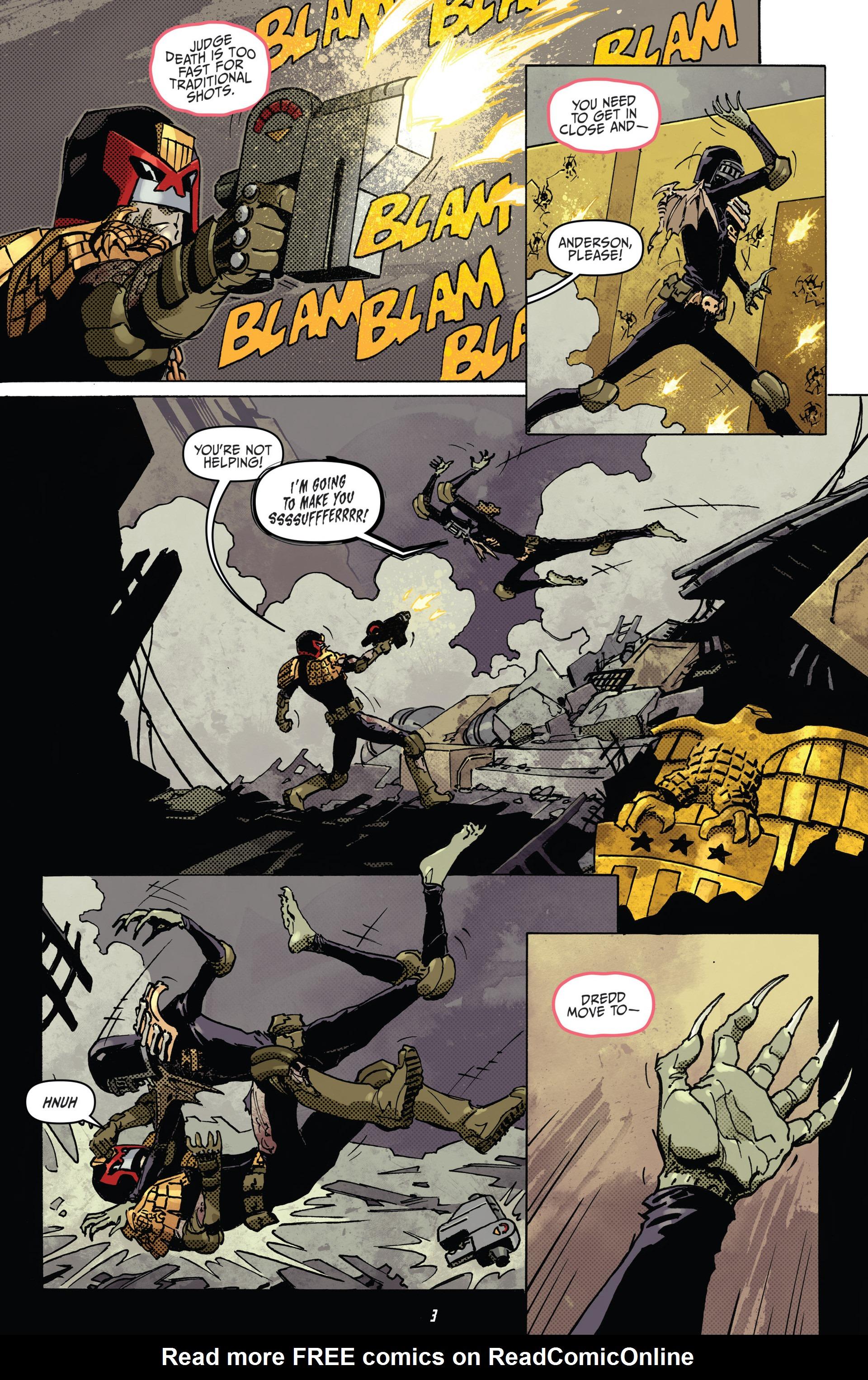 Read online Judge Dredd (2012) comic -  Issue #22 - 5