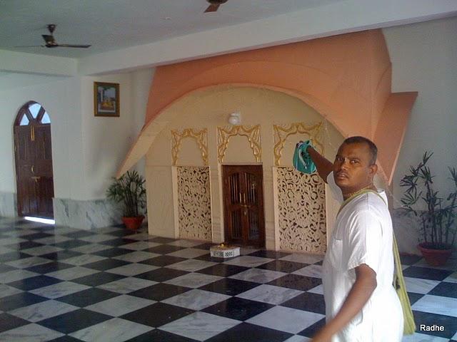 Radha Krishna Land: Sri Rupa Goswami Samadhi Mandir,Vrindavan Ом Намах Шивая
