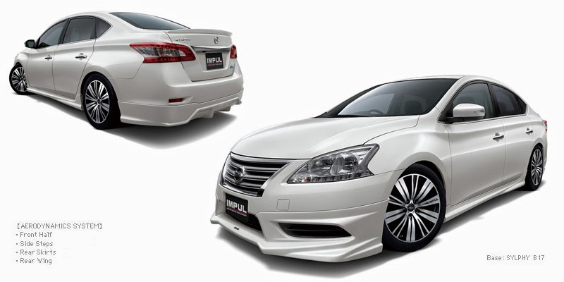 Leopaul's blog: Impul's new body kit for B17 Nissan Sylphy ...