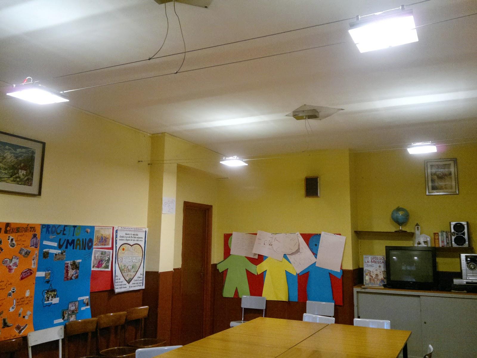 Illuminazione led casa oratorio della parocchia s - Illuminazione casa ...
