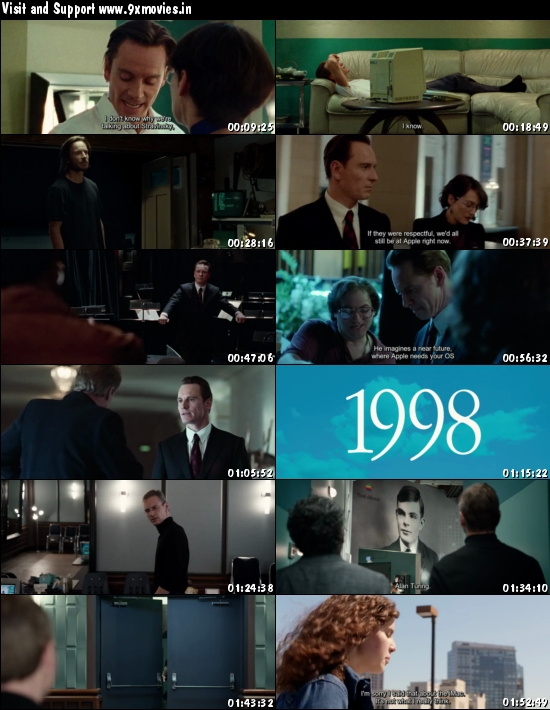 Steve Jobs 2015 English 480p BRRip 350mb ESubs