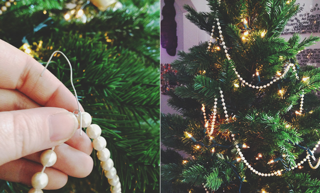 Garland for christmas trees nice diy christmas tree garland