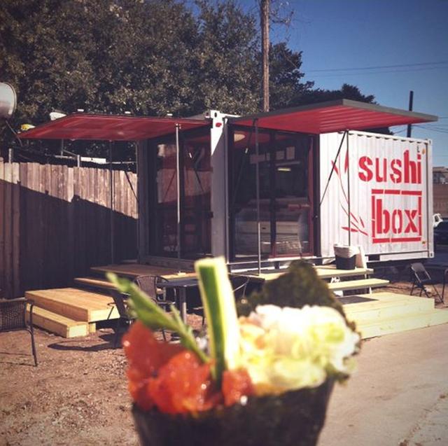 Sushi Box: contêiner reciclado vira restaurante