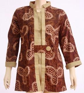 Foto Baju Batik Kerja Jogja