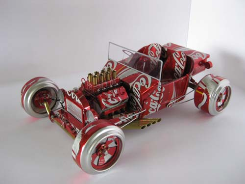 Cars Made From Coke Cans