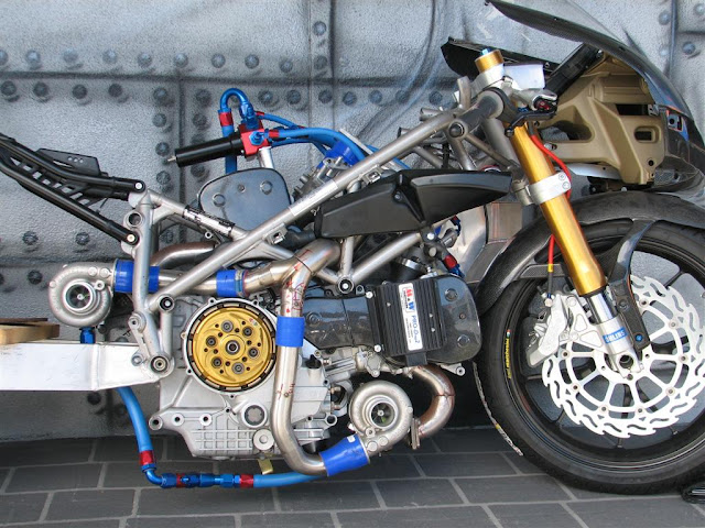 Ducati 749R Twin-turbo Motorcycle 280bhp custom motorcycles [ CLICK TO ENLARGE ]