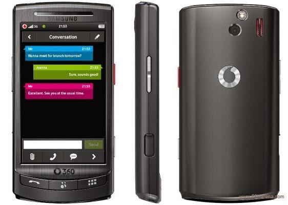 Samsung I8320 Vodafone 360 H1 Firmwares